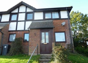 Thumbnail 1 bedroom semi-detached house to rent in Buller Close, Crowborough