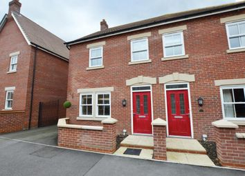 Thumbnail 3 bed semi-detached house to rent in Crowsley Road, Kempston