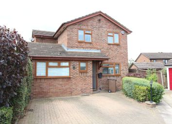 Thumbnail 4 bed detached house for sale in Albury Close, Luton