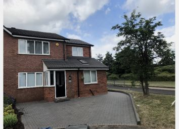 Thumbnail 3 bed town house for sale in Curlew Close, Lichfield
