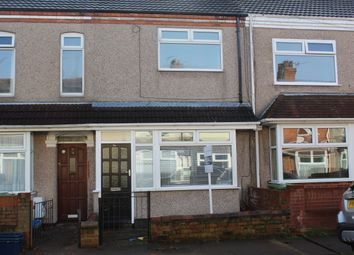 Thumbnail 3 bedroom terraced house to rent in Fairmont Road, Grimsby