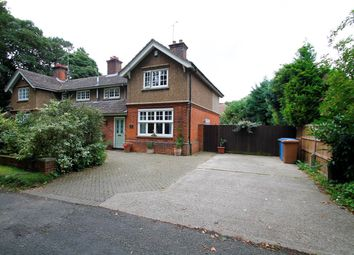 Thumbnail 3 bed semi-detached house for sale in Cemetery Lane, Ipswich