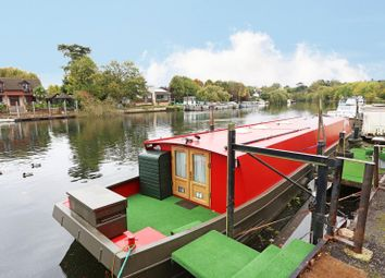 Thumbnail 2 bed houseboat for sale in Straight Road, Old Windsor, Windsor