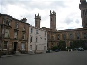 Thumbnail Studio to rent in 1 Lynedoch Place, Park District, Glasgow G3,