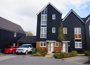 Thumbnail 4 bed semi-detached house for sale in Campion Close, Ashford