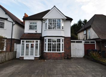 Thumbnail 3 bed detached house to rent in Vicarage Road, Kings Heath, Birmingham