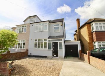 Thumbnail 4 bed semi-detached house for sale in Amery Gardens, Romford