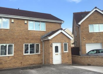 Thumbnail 2 bed semi-detached house for sale in School House Close, North Cornelly, Bridgend