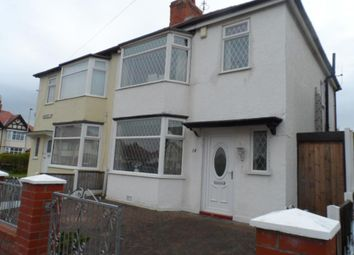 Thumbnail 3 bed semi-detached house for sale in Sandicroft Road, Blackpool