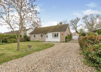 Thumbnail 3 bed bungalow for sale in West Carr Road, Attleborough