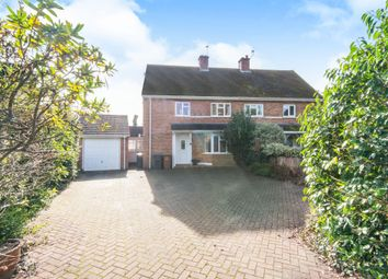 Thumbnail 3 bed semi-detached house for sale in Slab Lane, West Wellow, Romsey