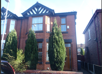 Thumbnail 3 bed semi-detached house to rent in Bristol Avenue, Manchester