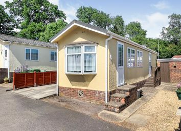 Thumbnail 2 bed mobile/park home for sale in Glen Mobile Home Park, Colden Common, Winchester
