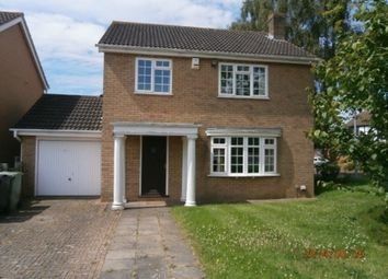 Thumbnail 4 bed detached house to rent in Winchester Road, Grantham