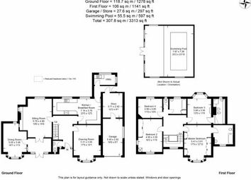 Thumbnail 5 bed detached house to rent in Adams Hill, Wollaton