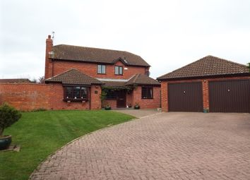 Thumbnail 4 bed detached house to rent in Butt Close, Wigston