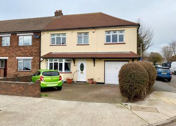 Thumbnail 4 bed end terrace house for sale in Broadstone Road, Hornchurch