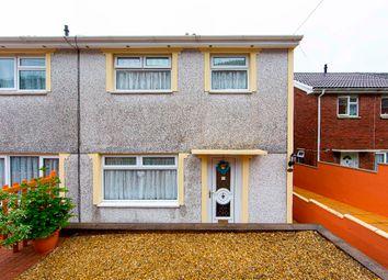 Thumbnail 3 bed semi-detached house for sale in Darren Las, Merthyr Vale, Merthyr Tydfil