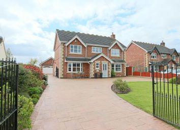 Thumbnail 4 bed detached house for sale in Woore Road, Buerton, Near Audlem
