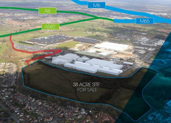 Thumbnail Land for sale in Farington Hall Estate, Lancashire Business Park, Centurian Way, Leyland, Lancashire