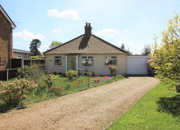 Thumbnail 2 bed detached bungalow for sale in Hellesdon, Norwich, Norfolk