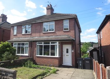 Thumbnail 2 bed semi-detached house for sale in Vicarage Crescent, Newcastle, Staffordshire