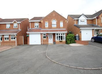 Thumbnail 4 bed detached house for sale in Christchurch Close, Nuneaton