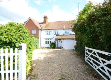 Thumbnail 4 bedroom semi-detached house for sale in School Cottage, Mereoak Lane, Grazeley