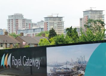 Thumbnail 1 bed flat for sale in Custom Tower, Royal Gateway, Canning Town, London