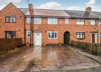 Thumbnail 4 bed terraced house for sale in Hughes Road, Wednesbury