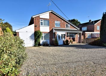 Thumbnail 4 bed detached house for sale in Swaffham Road, Mundford, Thetford