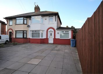 Thumbnail 3 bed semi-detached house for sale in Meadow Way, West Derby, Liverpool, Merseyside