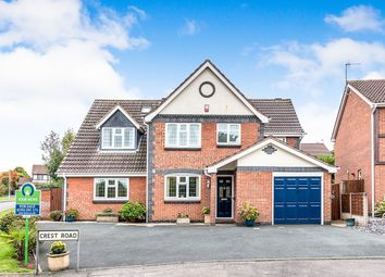 Thumbnail 6 bed detached house for sale in Crest Road, St. Georges, Telford