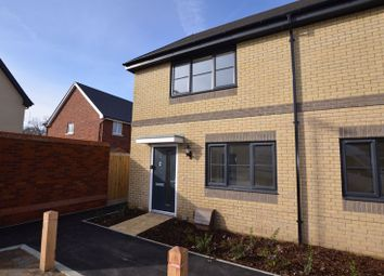 Thumbnail 2 bed semi-detached house to rent in Weston Way, Eastleigh