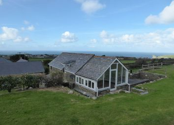 Thumbnail 4 bed detached house for sale in Trenale, Tintagel