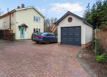 Thumbnail 4 bed detached house for sale in Church Hill, Burstall, Ipswich