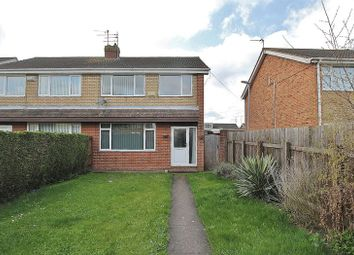 Thumbnail 3 bedroom semi-detached house for sale in Jendale, Sutton-On-Hull, Hull