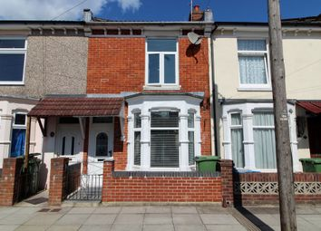 Thumbnail 3 bed terraced house for sale in Weston Avenue, Southsea