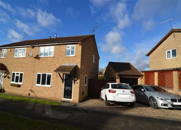 Thumbnail 3 bed semi-detached house for sale in Foston Gate, Wigston