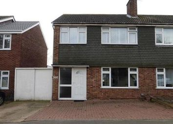 Thumbnail 3 bed semi-detached house to rent in Uplands Road, Leicester, Leicestershire