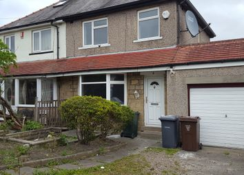Thumbnail 3 bed semi-detached house to rent in Como Drive, Bradford