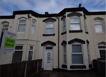Thumbnail 4 bed terraced house for sale in Grove Road, Rock Ferry, Birkenhead