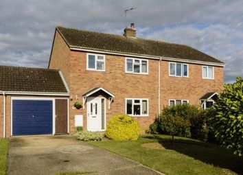 Thumbnail 3 bed semi-detached house for sale in Witchford, Ely, Cambridgeshire