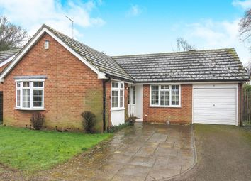 Thumbnail 3 bed detached bungalow for sale in Oxburgh Close, Leverington, Wisbech