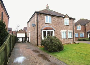Thumbnail 2 bed semi-detached house to rent in West End Gardens, Nafferton, Driffield