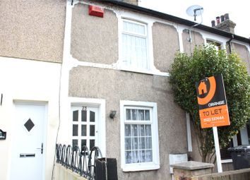 Thumbnail 2 bed terraced house to rent in Castle Street, Swanscombe, Kent