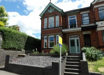 Thumbnail 4 bed semi-detached house for sale in Station Road, Hugglescote, Coalville