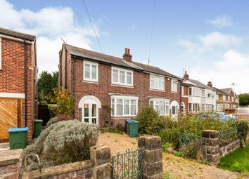 Thumbnail 3 bed semi-detached house for sale in Old Stoke Road, Aylesbury