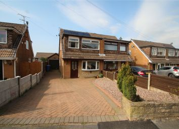 Thumbnail 3 bed semi-detached house for sale in Eafield Avenue, Milnrow, Rochdale, Greater Manchester