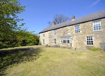 Thumbnail 4 bedroom barn conversion to rent in Mitford, Morpeth